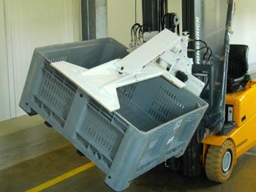 invert a bin
